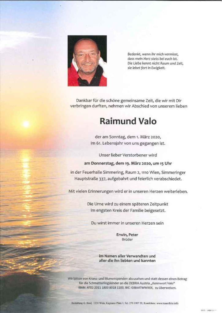 Parte Raimund Valo