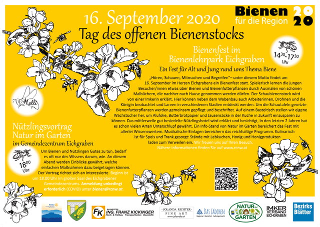 Tag Bienenstock Flyer 2020 09 2