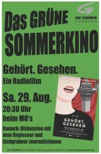 Plakat Sommerkino Aug 2020