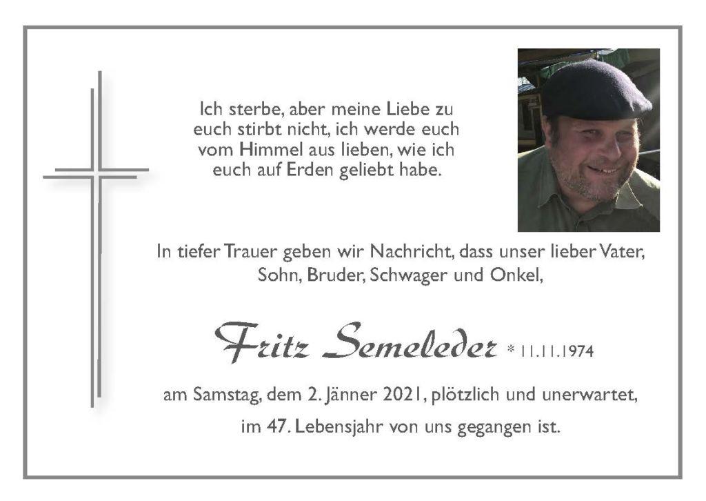 Parte Fritz Semeleder Seite 1