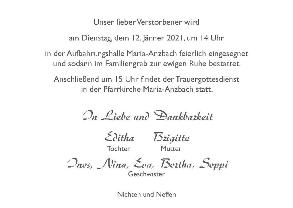 Parte Fritz Semeleder Seite 2