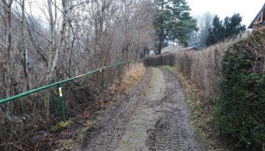 Westbahnweg Sperre 2