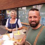 Eingangskontrolle mit Birgit Teufel und Michael Lehner