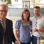 Familie Leber mit Bürgermeister Georg Ockermüller