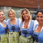 Die Marketenderinnen des MV Eichgraben-Maria Anzbach