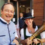 Altbürgermeister Martin Michalitsch mit Musikschuldirektorin Iris Trefalt