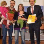 Monika Abseher u. Martin Weissmann mit Ian und Diana