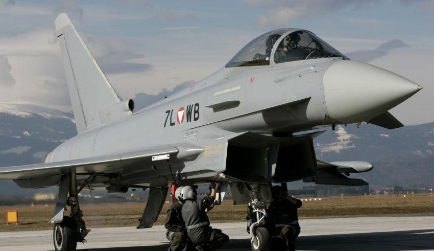 Bundesheer Eurofighter