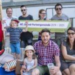Eichgrabens Jugend hat Paletten-Sitzmöbel für die Alte Gärtnerei hergestellt
