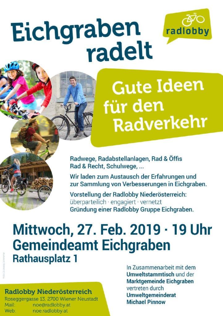 Einladung Eichgraben Radelt