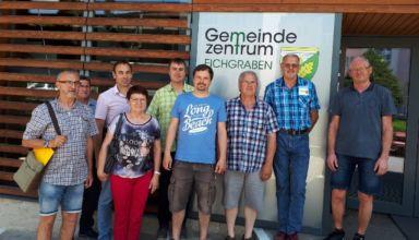 Elektromobil Besuch Gemeinde Taufkirchen Web