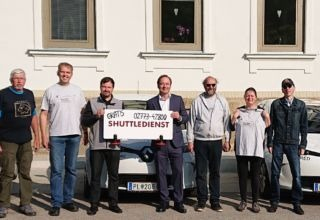 Elektromobil Fahrtendienst Wahl Mai 2019