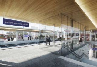 Foto Bahnhof Bahnsteig