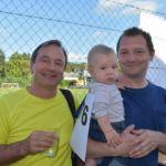 Martin Michalitsch und Erwin Stättner mit dem jüngsten Teilnhmer :-)