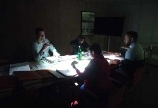 Stromausfall im Gemeindezentrum