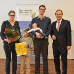 Regina Kranner u. Alexander Achs mit Sophie und Clemens