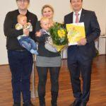 Susanne u. Frank Ellmer mit Alexander und Andreas
